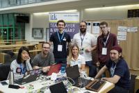 Beim 1. Science Hackathon entwickeln Studierende mit Unterstützung der Experten von ITK Engineering virtuelle Drumsticks und erzielen den ersten Platz / Foto: © Arvid Uhlig