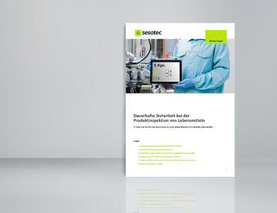 """Im White Paper """"Dauerhafte Sicherheit bei der Produktinspektion von Lebensmitteln"""" gibt Sesotec fünf Tipps, wie Metalldetektoren optimal eingestellt werden können, um die bestmögliche Leistung zu bringen. (Bild: Sesotec GmbH)"""