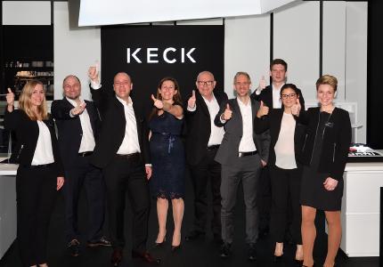 Das KECK Team auf der EuroShop