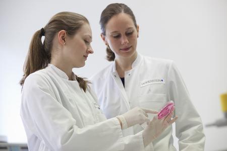 Neue Forschungsergebnisse der Hohenstein Institute können helfen, antimikrobielle Produkte zur Durchbrechung von Infektionsketten gezielt weiterzuentwickeln / © Hohenstein Institute