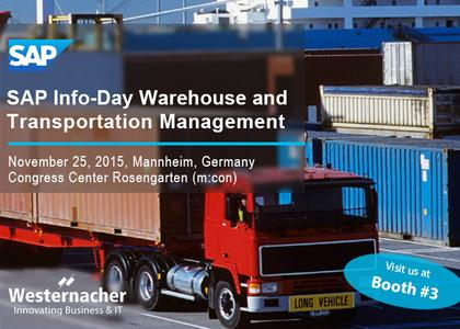 Westernacher at SAP Information-Day 2015