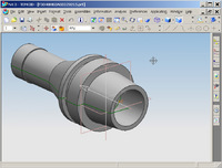 Die Werkzeugdaten für die Aufnahme gelangen direkt aus TDM in das NX CAD-System und erzeugen automatisch eine 3D-Werkzeuggrafik. (Bild: TDM Systems)