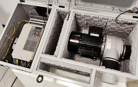 Dietz-motoren Blower Komplettaggregat