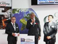 left to right: Dr. Timo Würz (VDMA) Thomas Fritsch (Foundry Planet) Zhang Libo (CFA)