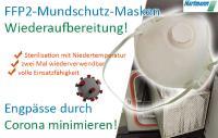 Aufbereitung von FFP2-Masken durch Niedertemperatur-Sterilisation bei der Hartmann GmbH, Hainichen