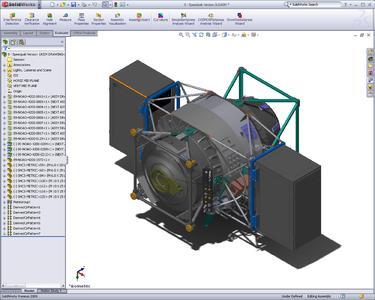 Die neue Funktion SppedPak in Solidworks 2009 reduziert den Speicherbedarf, ohne Abstriche bei der Detailgenauigkeit oder Assoziativität