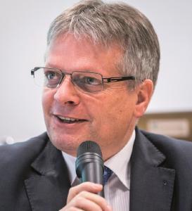 Prof. Dr. Hubert Jäger, Keynote Speaker beim 1. Lightweighting Summit, Hannover Messe 2019, (c) André Wirsig für LH Dresden