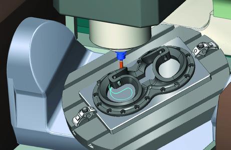 Volle Kontrolle: mit der Maschinensimulation in Mastercam für SolidWorks