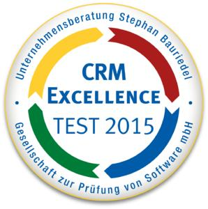 CRM Excellence Siegel 2015