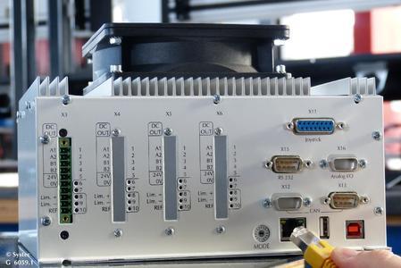Xemo NC versteht sich besonders gut mit der Ethernet-Schnittstelle