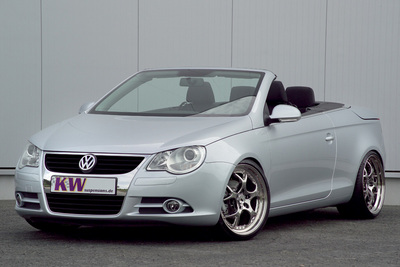 KW coilover suspensions, sport suspension and sport springs for VW Eos