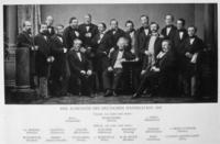 Es zeigt die Gründungsversammlung 1861 in Heidelberg, Fotonachweis: DIHK