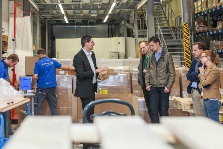 Bildeindrücke vom Tag der Logistk bei Pharmaserv Logistics in Marburg
