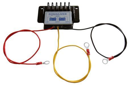 Ausgleichselement verlängert Batterielebensdauer