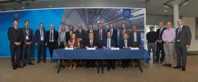CERN Signs Three Contracts with Hamamatsu Photonics for ATLAS and CMS HL-LHC Upgrades