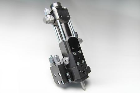 The specialist for extremely small outputs starting at 1.5 grams/second: the MT 3 high-pressure mixhead