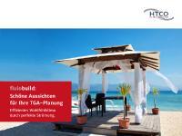 Flyer: Schöne Aussichten für Ihre TGA-Planung. Erfahren Sie, wie Lüftungs- und Klimatechnik-Planungen von Strömungssimulationen profitieren können.
