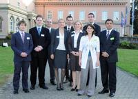 Dr. Gert Schneider, Malte Diehl, Rüdiger Theobald, Dr. Sandra Steinert, Christian Mittag, Anne Stender, Timo Albrecht, Lisa Merz und Bülent Uzuner