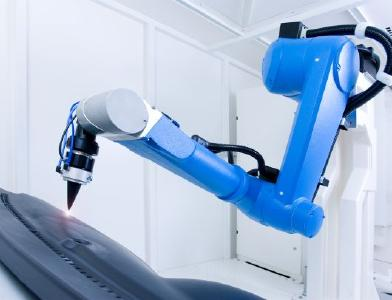 AT-VOTAN C BIM-Roboterarm ©JENOPTIK AG