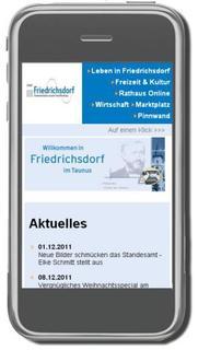"Friedrichsdorf ""goes mobile"""
