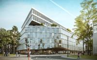 Abb. 1: îlot B kombiniert hochkarätige Architektur mit einem innovativen Brandschutzkonzept. (Foto: HRS Real Estate SA)