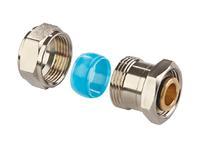 Mit den Schwarzrohradaptern von Simplex ist der komfortable Anschluss neuer Heizkörper an bestehende Rohrleitungen möglich