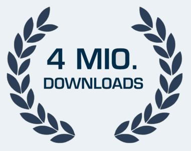 Die PARTserver Community von CADENAS erreicht 4 Millionen Downloads pro Monat. | @ CADENAS GmbH
