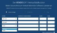 Der VENDSOFT-Verkaufskalkulator errechnet den Preis für gebrauchte Software-Volumenlizenzen