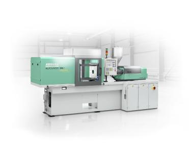 HARTING presents the latest solutions in the field of RFID-based tool recognition, energy measurement and OPC-UA connection on the ALLROUNDER injection molding machine from ARBURG