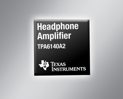 Extend music playback time with industry's lowest power, Class-G headphone amplifiers from Texas Instruments