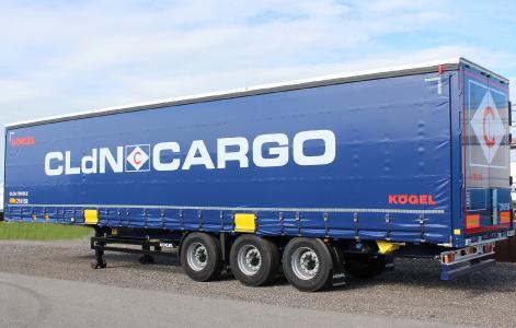 Kögel Cargo Rail with CLdN equipment