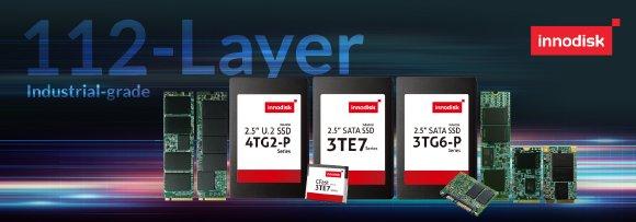 Industrial-Grade 112-Layer 3D TLC SSDs