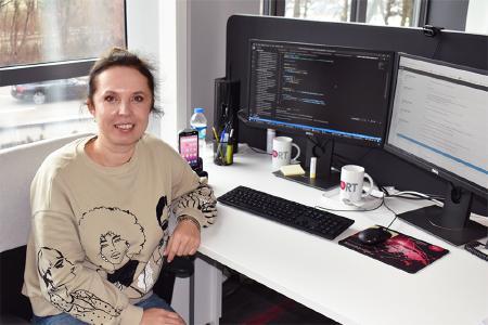 Im Gespräch mit Polina, Softwareentwicklerin bei Soloplan