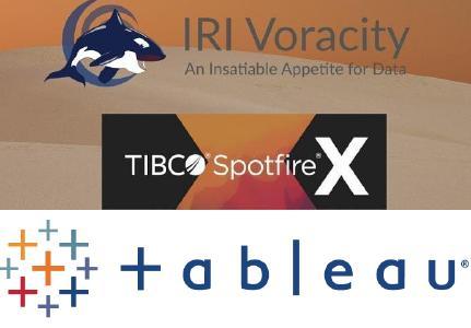 Beschleunigung von TIBCO Spotfire + Tableau Software