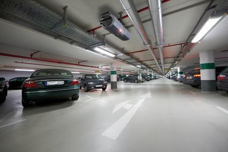 Parkgarage mit Jetfan