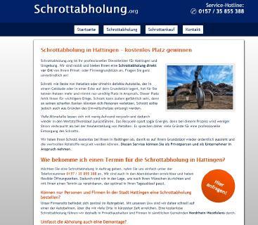 Die Schrottabholung Hattingen bieten für den Schrott gutes Geld über Schrottabholung.org
