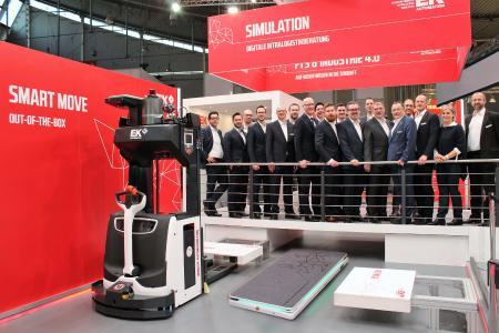Die E&K AUTOMATION GmbH aus Rosengarten: Erfolgreiche Premiere für den FAST MOVE in Stuttgart