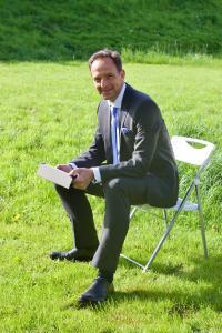 Matthias Hohmann, Geschäftsführer Night Star Express GmbH Logistik, Unna