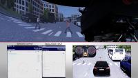Driver in the Loop with Sensor Fusion Test