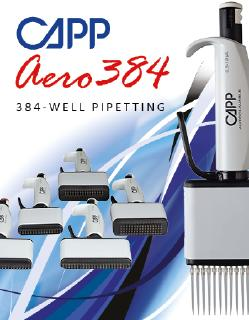 CAPP 384 well Pipetting