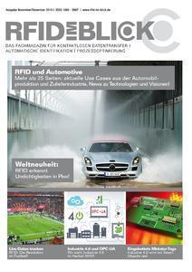"""Die """"RFID im Blick"""" Novemberausgabe 2015 ist erschienen!"""