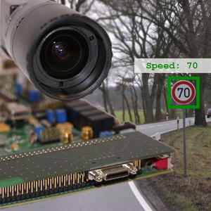 Camera used in car electronics