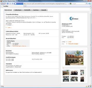 Das TechPilot-Firmenprofil: alle wichtigen Informationen auf einen Blick