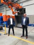 Stephan Pittner (links) führt das Unternehmen künftig gemeinsam mit Sieghard Thomas (rechts)