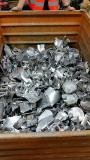 Saving time and space: Special pre-shredder reduces scrap in aluminium foundry to manageable sizes and optimises intralogistics process