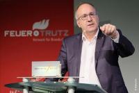 Hekatron Geschäftsführer Peter Ohmberger, Feuertrutz-Brandschutzkongress