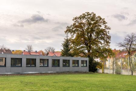Hybridmodulgebäude von Adapteo GmbH