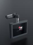 Über das höhenverstellbare Geräteträgersystem GTV light können Bedienpanels schnell und unkompliziert an die Maschine angebunden werden