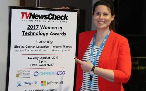 Yvonne Thomas from Arvato Systems wins 2017 Technology Women to Watch Award