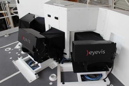 eyevis in LFT simulator